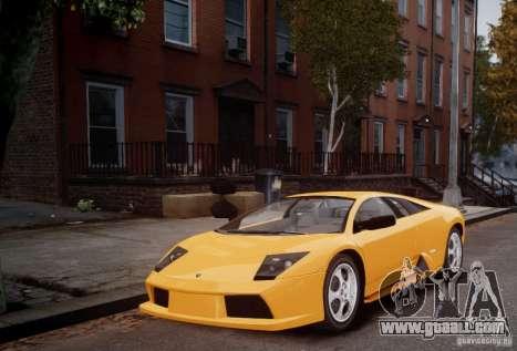 Lamborghini Murcielago for GTA 4 left view