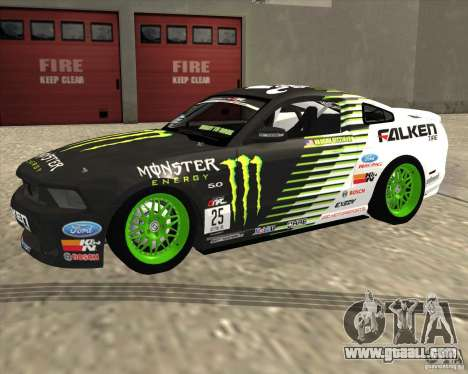 Ford Mustang GT 2010 Vaughn Gittin Jr for GTA San Andreas