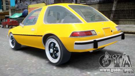 AMC Pacer 1977 v1.0 for GTA 4 back left view