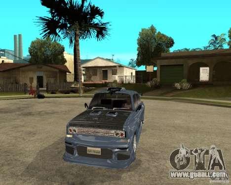 AZLK 2140 SX-Tuned for GTA San Andreas back view