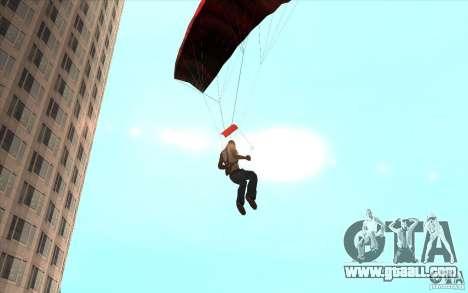 Parachute for GTA San Andreas