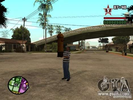 CJ-Kleptomaniac for GTA San Andreas second screenshot