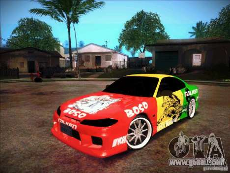 Nissan Silvia S15 BOSO Falken for GTA San Andreas