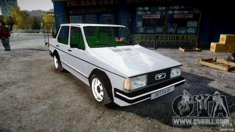 Volkswagen Jetta 1981 for GTA 4 right view