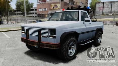 Rancher Tow Truck ELS for GTA 4