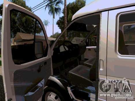 Gazelle 32213 1994 for GTA San Andreas inner view