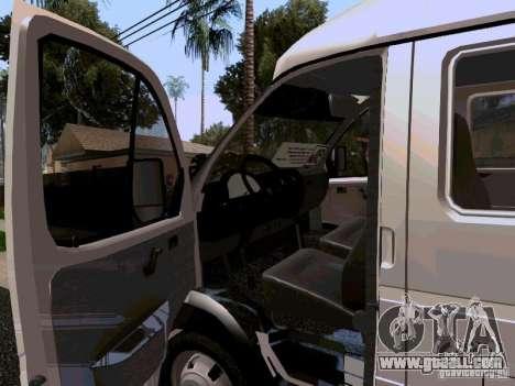 Gazelle 32213 1994 for GTA San Andreas inner view