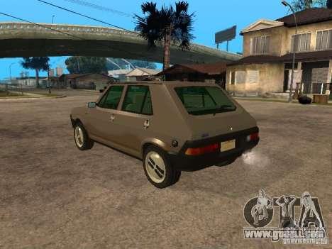 Fiat Ritmo for GTA San Andreas left view