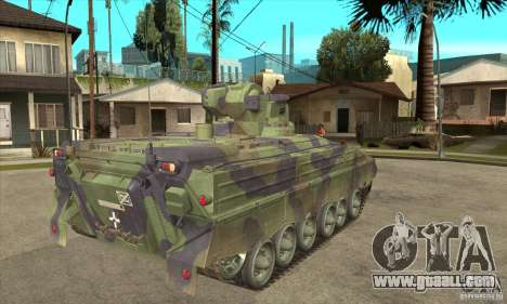 Marder 1A3 for GTA San Andreas right view