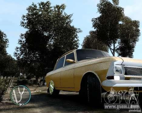 Moskvič 412 Street Racer [Alpha] for GTA 4 back left view