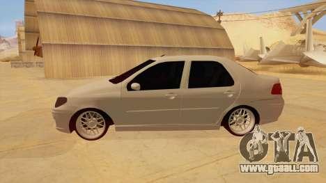 Fiat Albea for GTA San Andreas left view