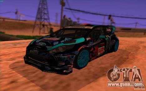 Ford Fiesta H.F.H.V. Ken Block 2013 for GTA San Andreas