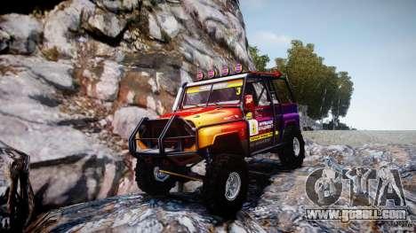 UAZ Hunter Trial v1.0 for GTA 4