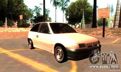 Opel Astra 1993 for GTA San Andreas right view