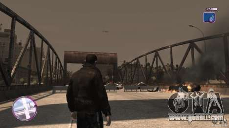 VC Style Radar/HUD (2 skins) for GTA 4 fifth screenshot