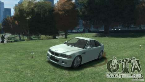 BMW M3 E46 for GTA 4 left view