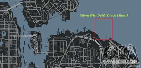 Edem Hill Drift Track for GTA 4 seventh screenshot