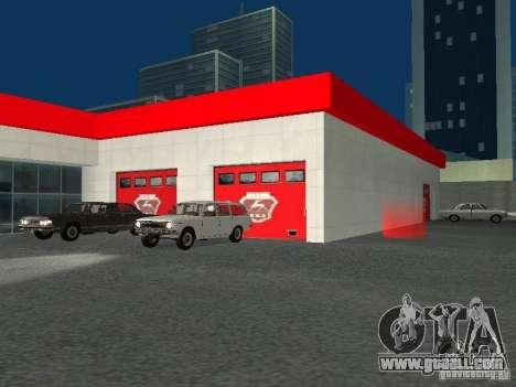 Gaz for GTA San Andreas sixth screenshot
