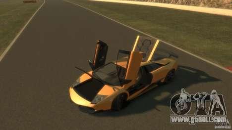 Lamborghini Murcielago VS LP 670 FINAL for GTA 4 inner view