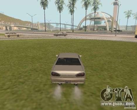 Emergency exit car for GTA San Andreas third screenshot