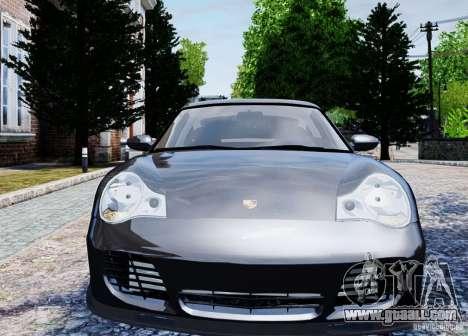 Porsche 911 Turbo S for GTA 4 back view