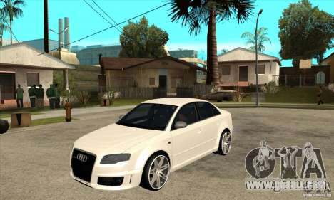 Audi RS4 2006 v2 for GTA San Andreas
