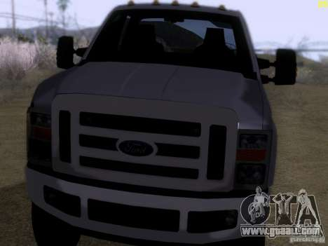 Ford F350 Super Dute for GTA San Andreas left view