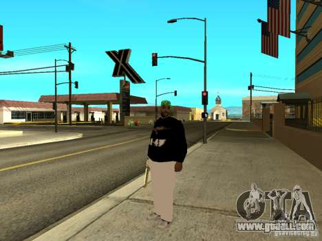 New thick Groove for GTA San Andreas third screenshot