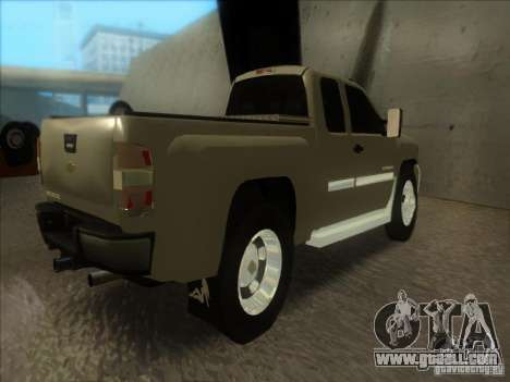 Chevrolet Silverado 3500 for GTA San Andreas left view