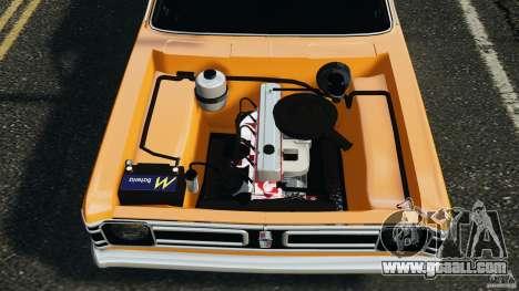 Chevrolet Opala Gran Luxo for GTA 4 upper view