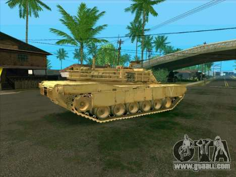 M1A2 Abrams of COD4: MW for GTA San Andreas left view