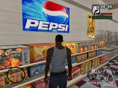 Magnet Shops for GTA San Andreas second screenshot