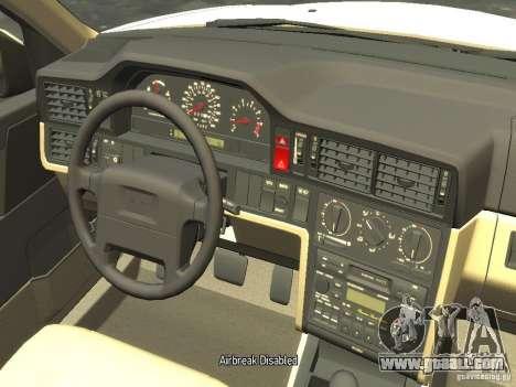 Volvo 850 R 1996 Rims 2 for GTA 4 inner view