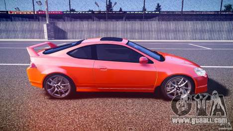 Acura RSX TypeS v1.0 stock for GTA 4 inner view