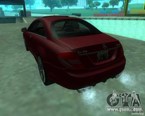Mercedes-Benz CL65 AMG for GTA San Andreas right view