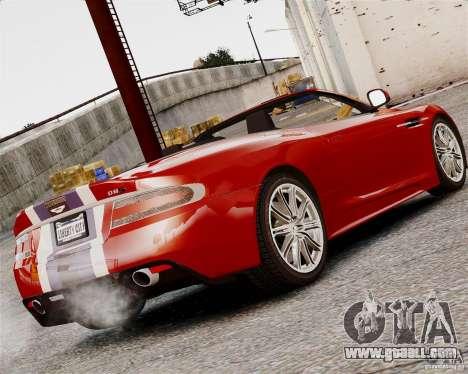 Aston Martin DBS Volante 2010 v1.5 Bonus Version for GTA 4 back left view