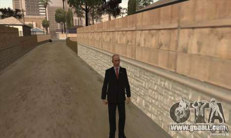 Vladimir Vladimirovich Putin for GTA San Andreas third screenshot