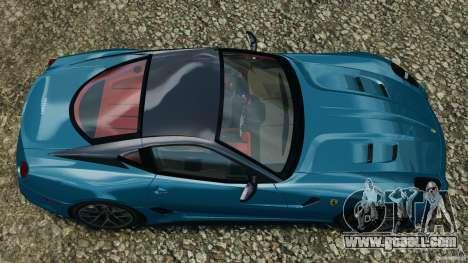 Ferrari 599 GTO 2011 for GTA 4 right view