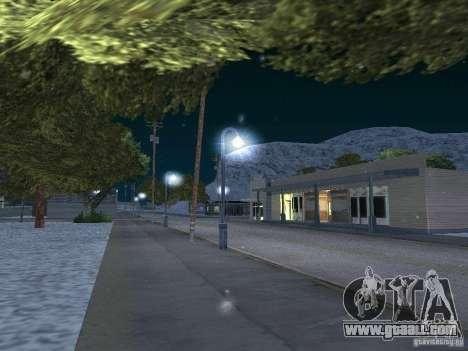 Snow for GTA San Andreas forth screenshot