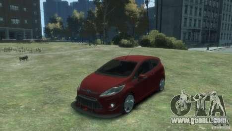Ford Fiesta for GTA 4