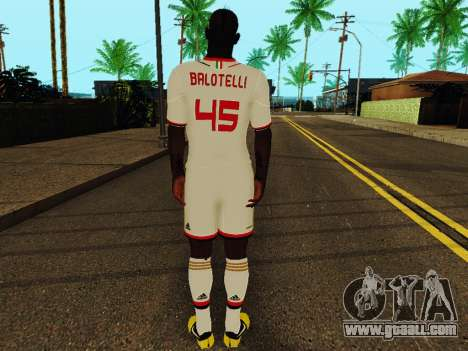 Mario Balotelli v2 for GTA San Andreas forth screenshot