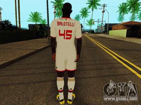 Mario Balotelli v2 for GTA San Andreas forth screenshot