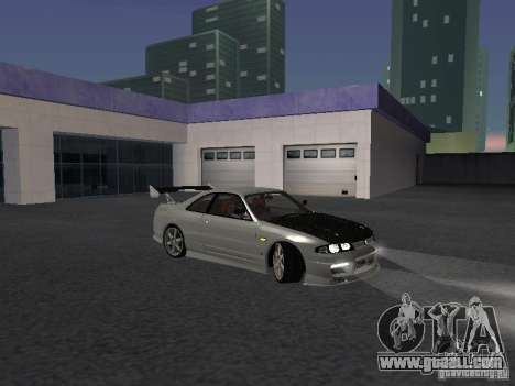 Nissan Skyline R33 SGM for GTA San Andreas back view