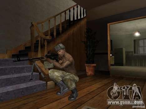 Hats of Call of Duty 4: Modern Warfare for GTA San Andreas eighth screenshot