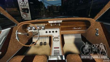 Ford Thunderbird Light Custom 1964-1965 v1.0 for GTA 4 back view