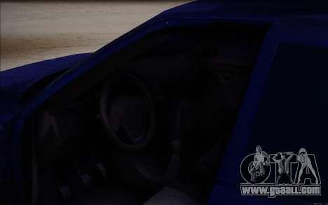 VAZ-2110 for GTA San Andreas bottom view