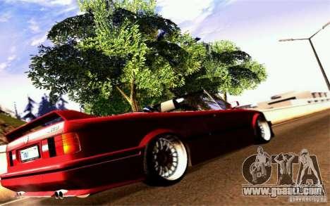 BMW E30 M3 Cabrio for GTA San Andreas right view