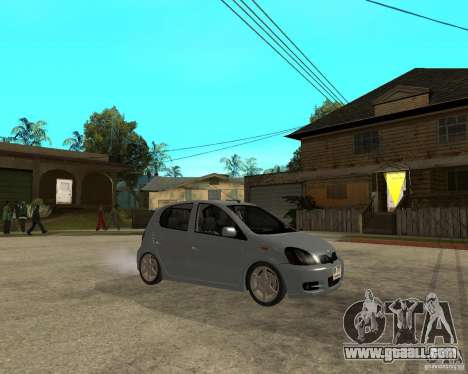 Toyota Vitz for GTA San Andreas