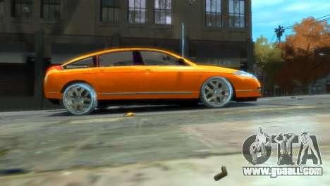 Citroen C6 for GTA 4 back view