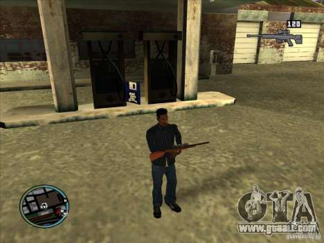 SA IV WEAPON SCROLL 2.0 for GTA San Andreas forth screenshot